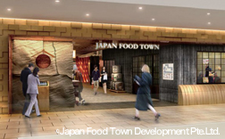 Investing in Japan Food Town Project in Singapore